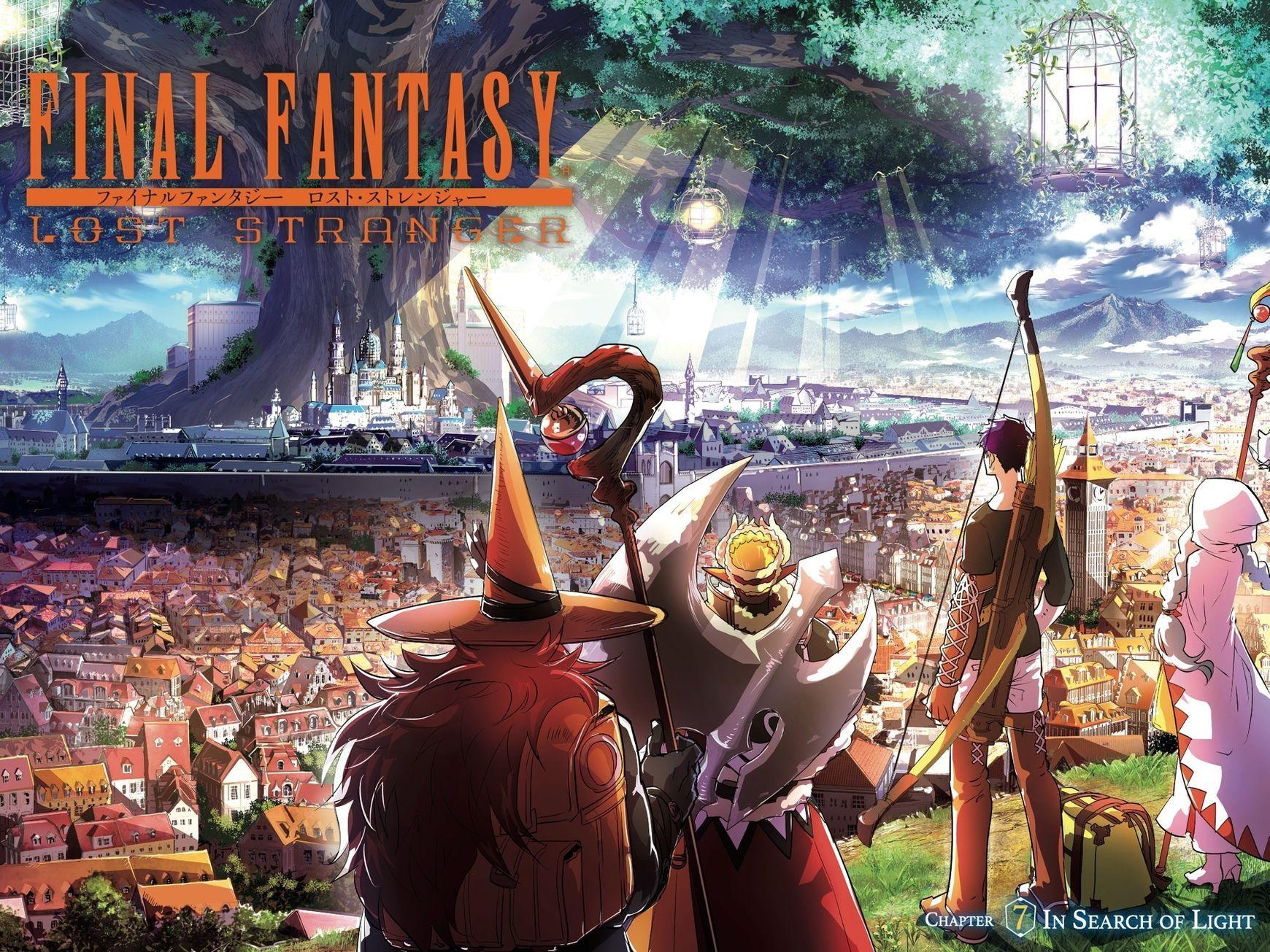 https://mangapark.me/manga/final-fantasy-lost-stranger-kameya-itsuki/s1/c007  | Final fantasy, Fantasy, Stranger