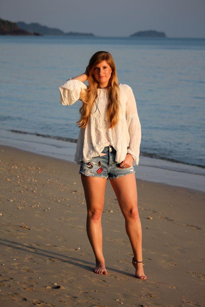 Thailand Strandlook Summerfashion Zara Patches Und Thailand