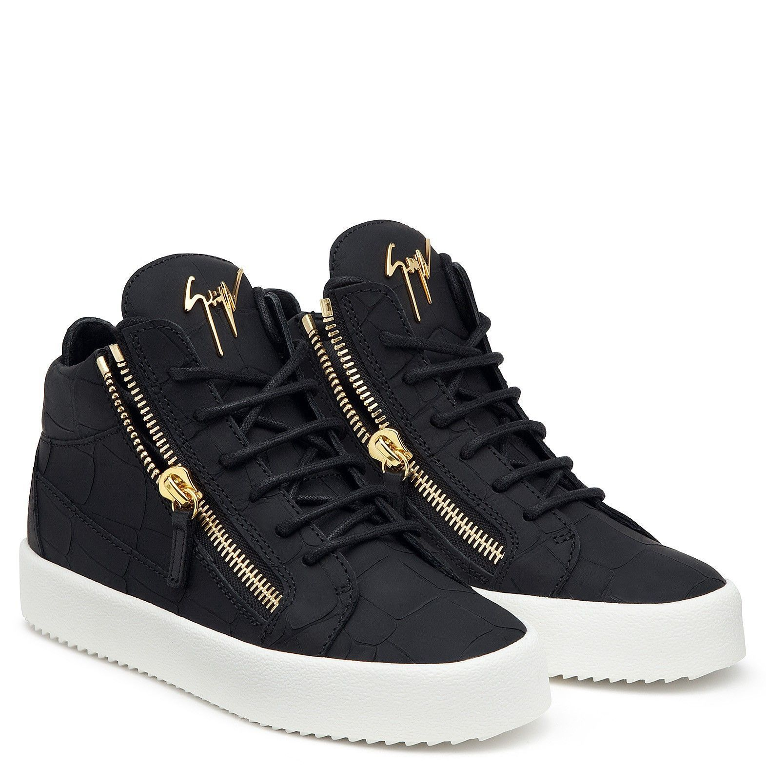 Giuseppe Zanotti Kriss Black Us6,5 (It36,5) | Tie shoes