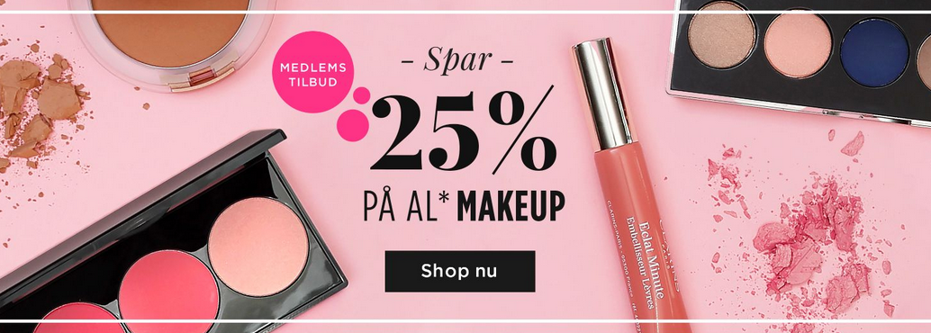 SPAR 25 PÅ MAC, YSL, NYX, SMASHBOX mm. !! Blog