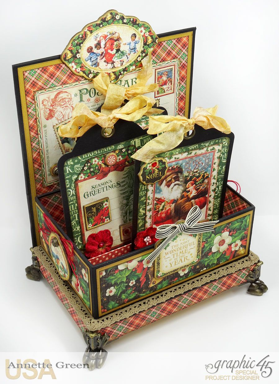 Christmas Box with St Nicholas by Graphic 45 Taught by