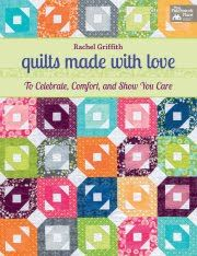 Bio on author of: Quilts made with love