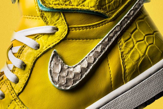 The Shoe Surgeon Debuts Lavish Air Jordan 1