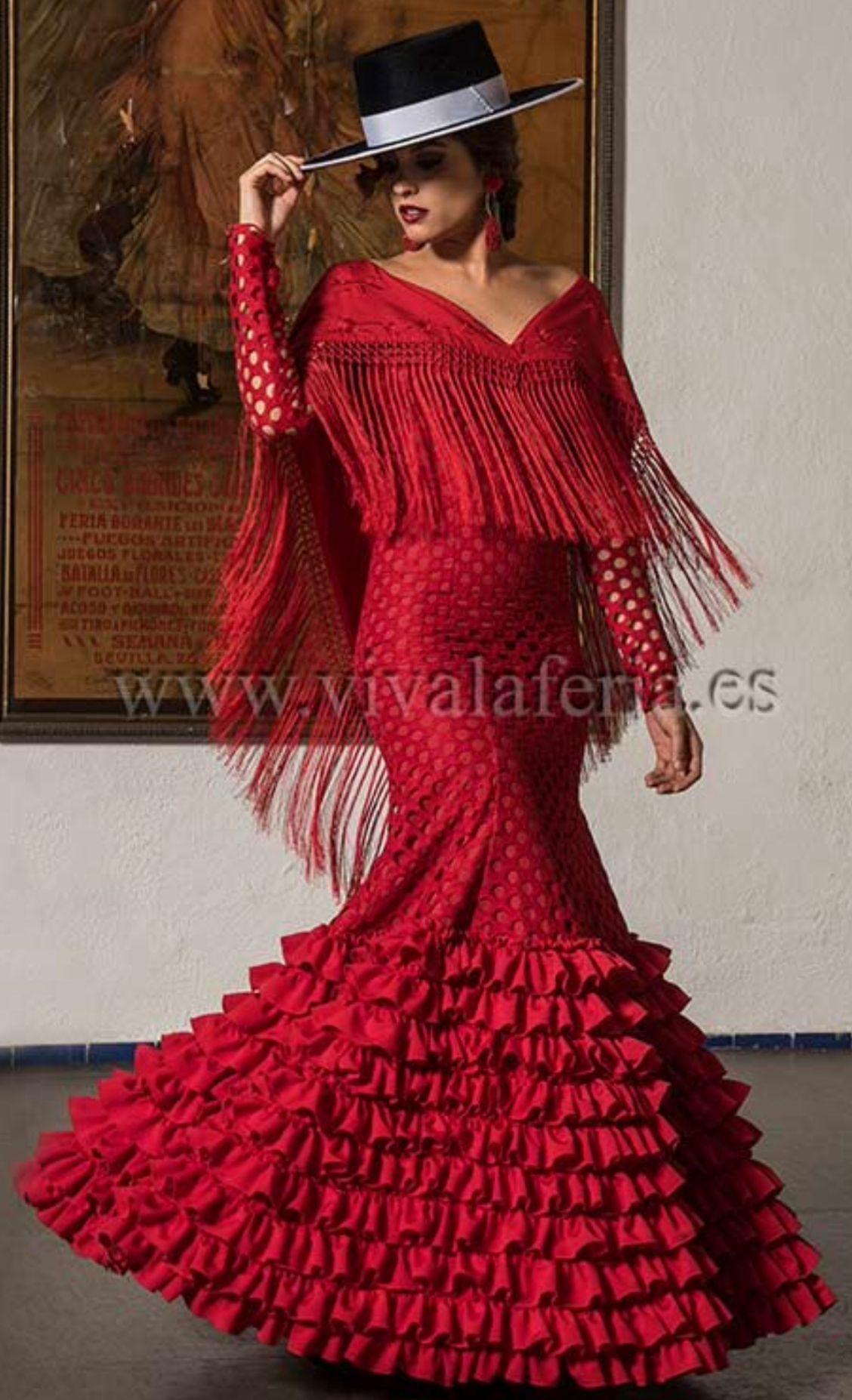 Flamenco Dancer With Hat Vintage Style Dresses Flamingo Dress Dresses