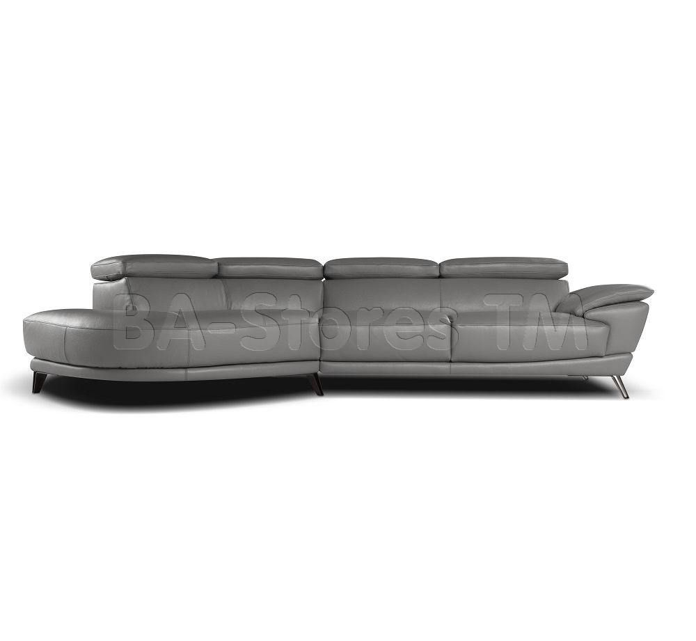 Marisol Sectional Sofa By Nicoletti Grey Sectional Sofas  # Muebles Viana Df