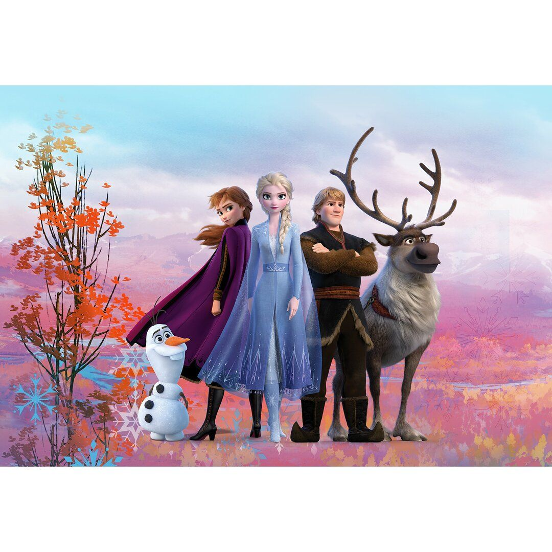 Frozen Iconic 2.54m x 3.68m Wall Mural