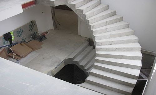 Best A Beautiful Helical Concrete Staircase Constructed In 400 x 300