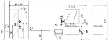 Resultat De Recherche D Images Pour Hauteur Entre Meuble Bas Et Haut De Cuisine Bathroom Dimensions Bathroom Floor Plans Bathroom Vanity Lighting