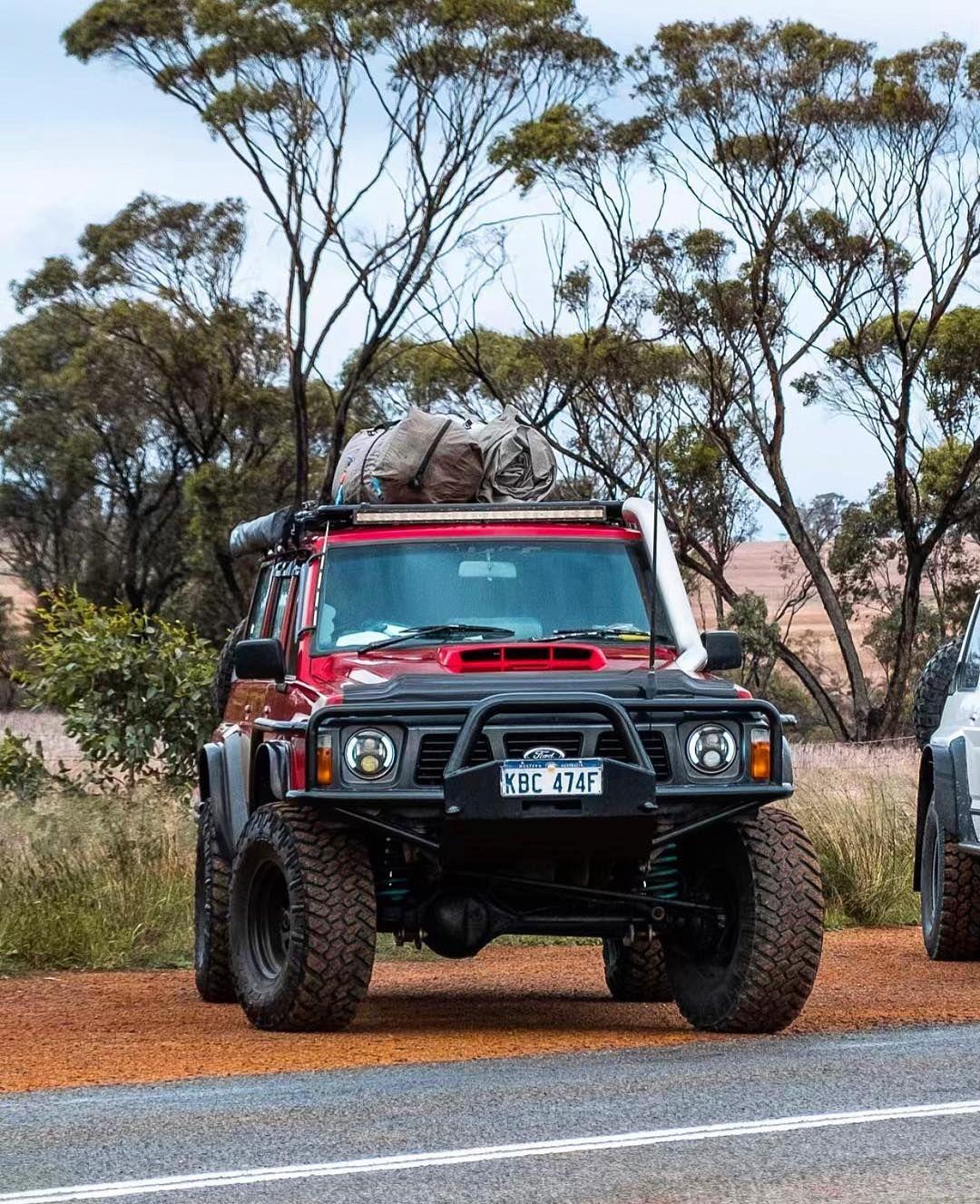 What A Gq Nissan Patrol Y60 Offroad Insane