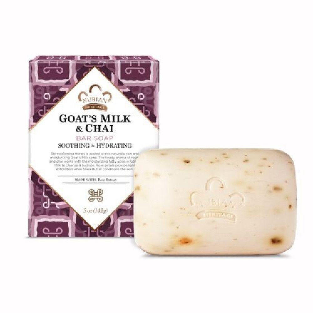 نوبيان هيرتيج صابونة حليب الماعز و الشيا 142 غرام سي ڤالي اكبر موقع للتجميل والعناية والعطور في المملكة ودول الخليج Makeup Collection Goat Milk Bar Soap