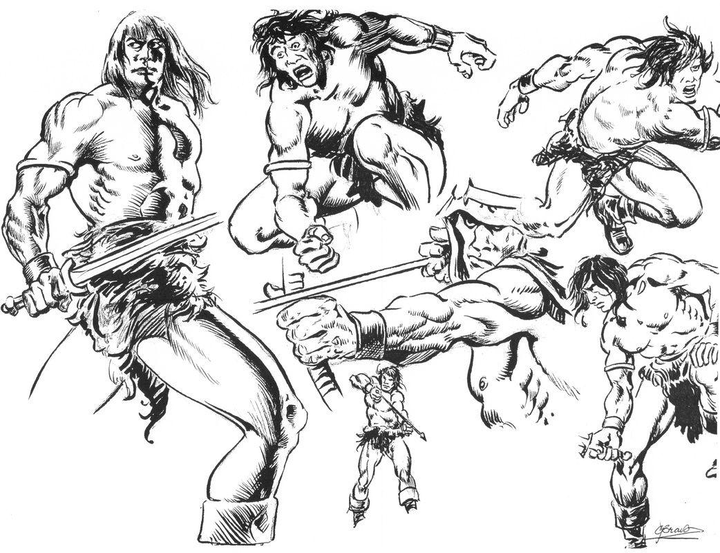 Heroic Anatomy Based Drawings Drawings Heroic Sketches