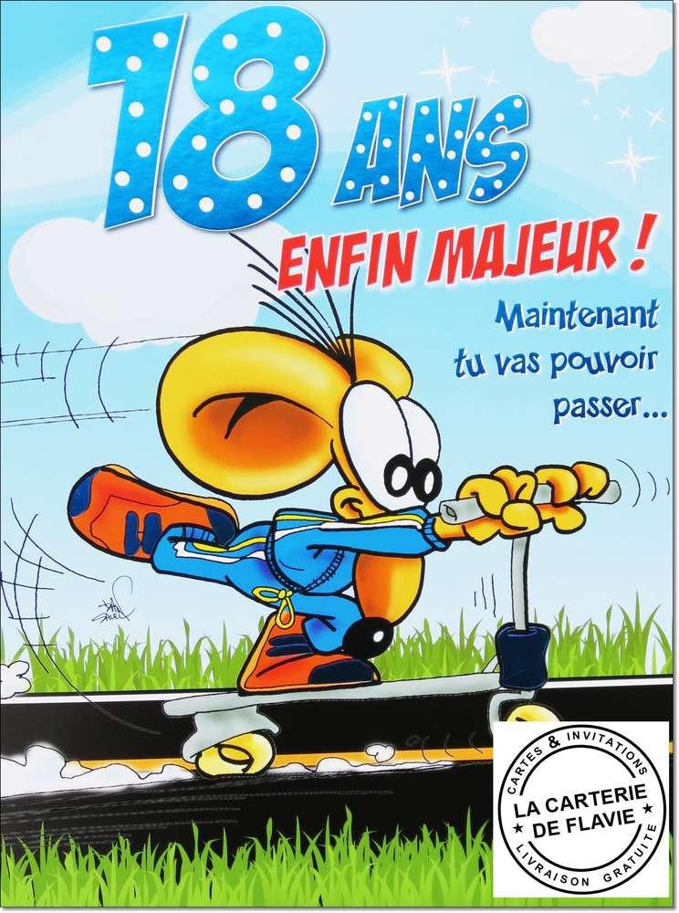 carte anniversaire 18 ans garçon Carte D'invitation Anniversaire 18 Ans Gratuit Inspirational Texte