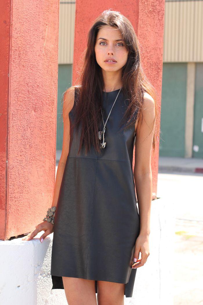 Fashion blogger for VivaLuxury Annabelle Fleur poses for a