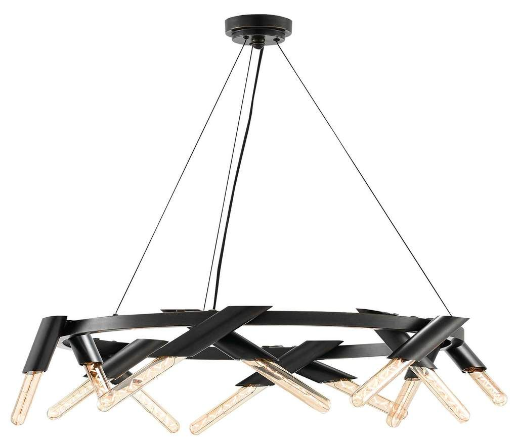 Currey and Company Luciole Chandelier 9000-0240 | CHANDELIER