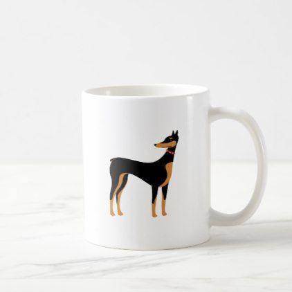 Doberman Coffee Mug Doberman Pinscher Puppy Pinschers Dog Dogs Pet Pets Cute Doberman Pinscher Puppy Mugs Doberman