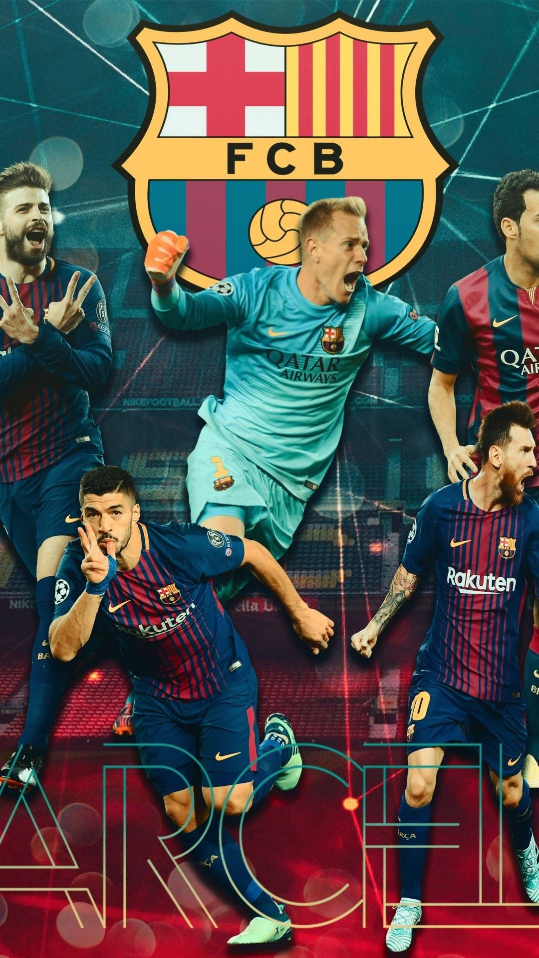 Team Barcelona Wallpaper Android Download in 2020