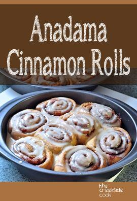 The world's easiest yeast bread makes the best cinnamon rolls   Anadama Cinnamon Rolls on The Creekside Cook  #yeast bread #cinnamon rolls