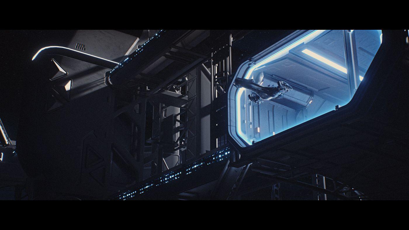 6a13d9a334 Researcher   First Teaser   Sci-fi short movie on Behance
