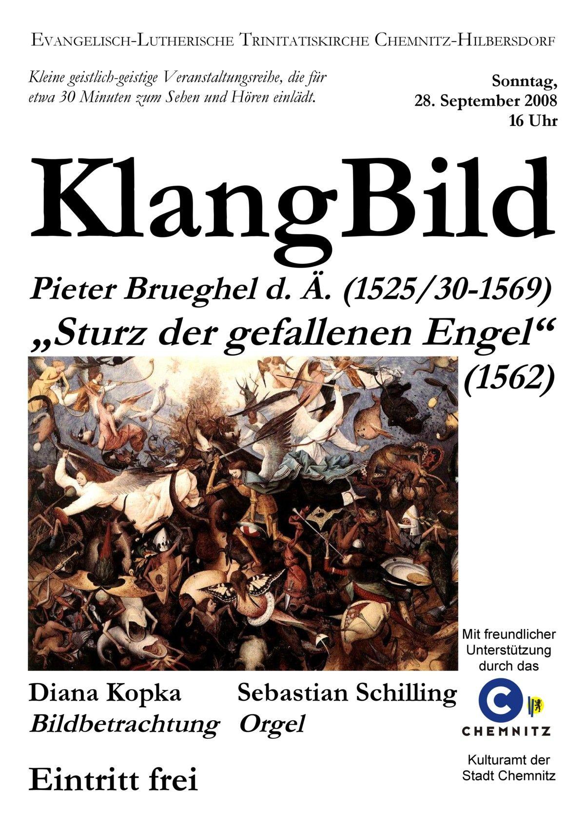 2008-09-28  KlangBild III.    Pieter Brueghel d.Ä.  Sturz der gefallenen Engel
