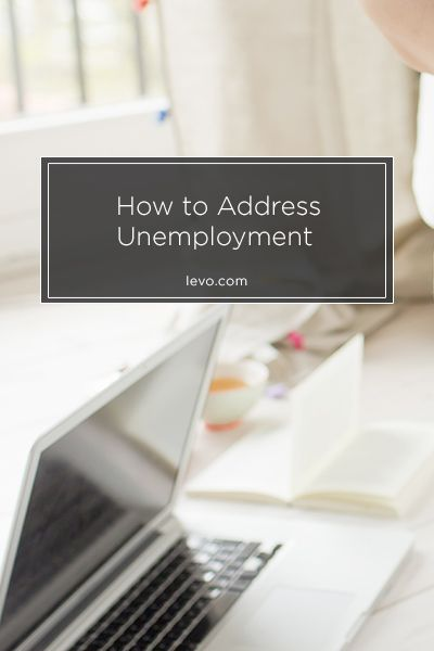 Unemployment Resume How To Address Unemployment  Career Advice Advice And Business