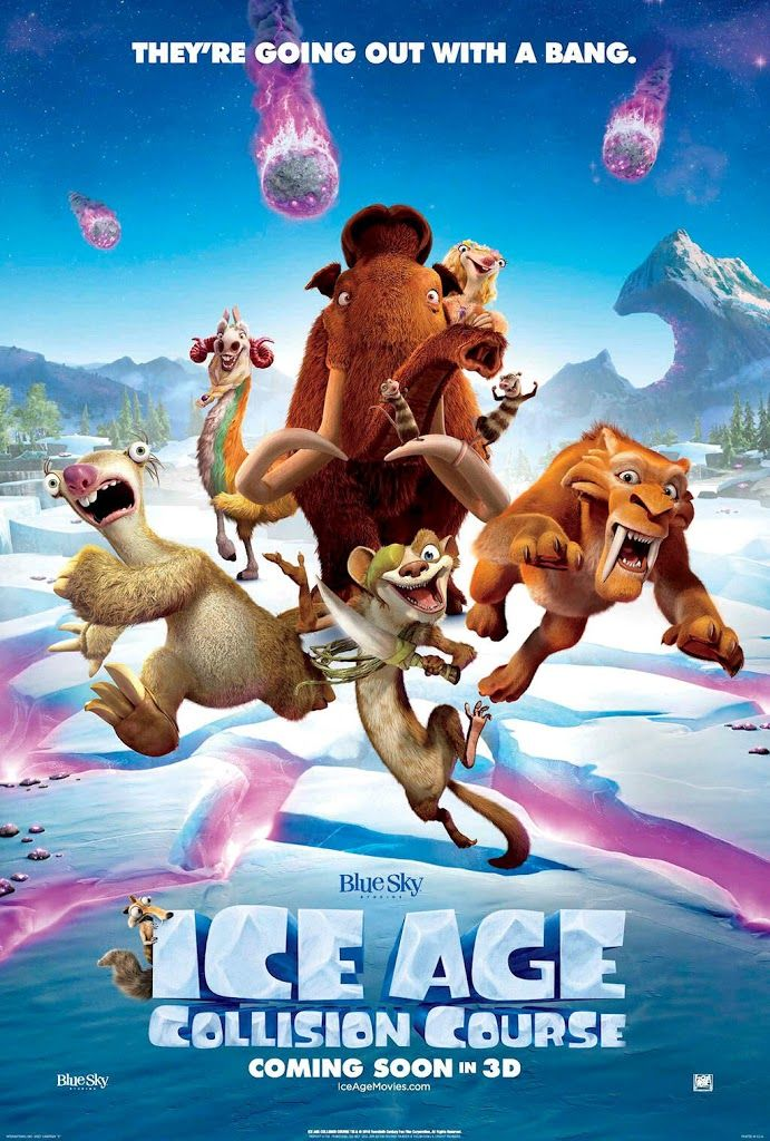 Ice Age Collision Course 2016 Cinema Infantil Filmes