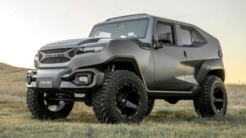Rezvani Tank It S Like A Hot Wheels Car Brought To Life Tactical Truck Vehicles Trucks