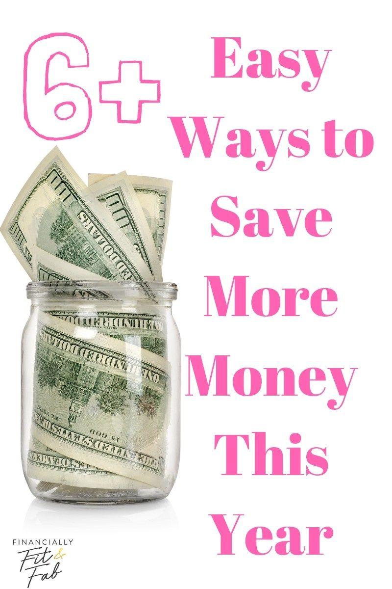 6+ einfache Möglichkeiten, in diesem Jahr mehr Geld zu sparen   So sparen Sie dieses Jahr mehr Geld #sa …   – Money Saving