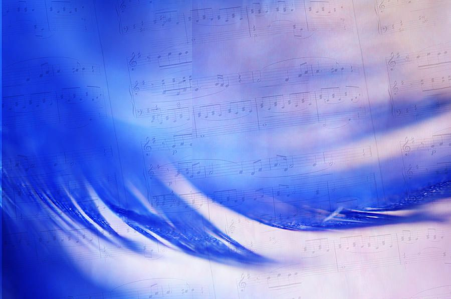Blue Marvel. Lighten Your Day With Music by Jenny Rainbow