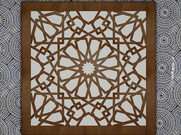 Arabesque Wood Art Arabesque Islamic Art In 2019