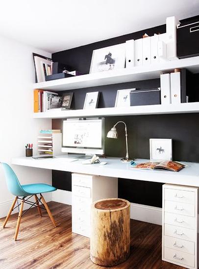 Inspiration Déco Pour Un Bureau Pratique, Joli Et Motivant | Flambant Luxe