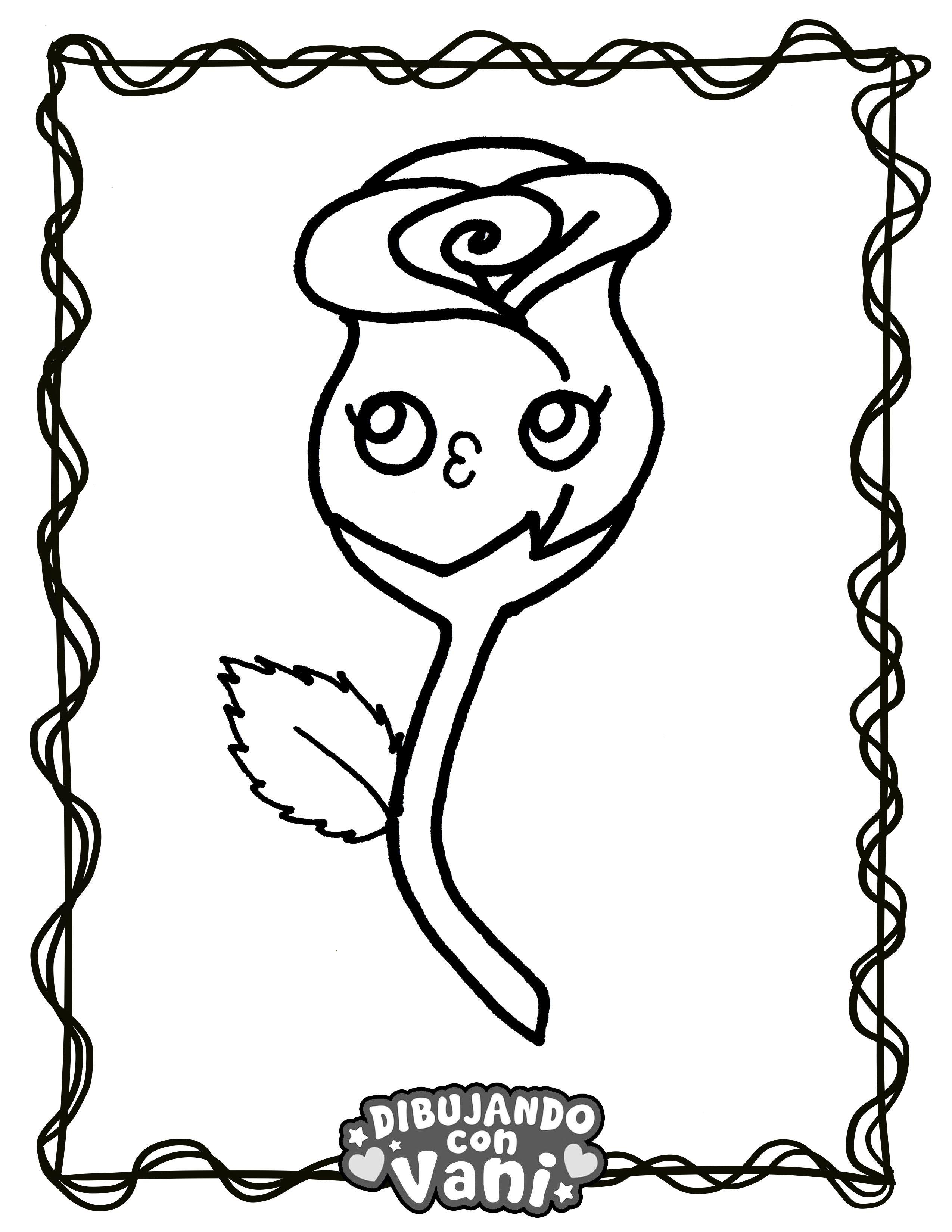 Dibujos Kawaii Para Colorear Dibujos Kawaii Dibujos Como