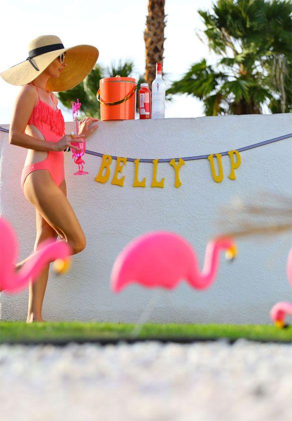 Flamingo Fiesta Pool Party | Kelly Golightly | Celebrate! | Pinterest