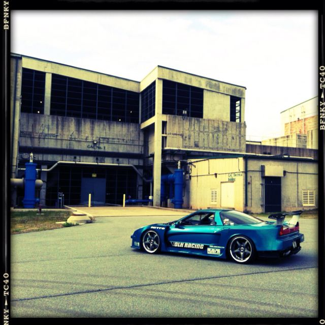 My 95 Acura NSX -T. Route KS Zero Force Widebody Kit 1of 2