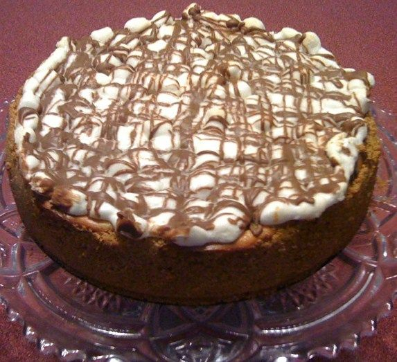 Sweet Tea And Cornbread: S'mores Cheesecake...elegant But