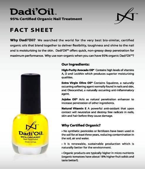 Ingredients of Dadi\'oil   Nails   Pinterest