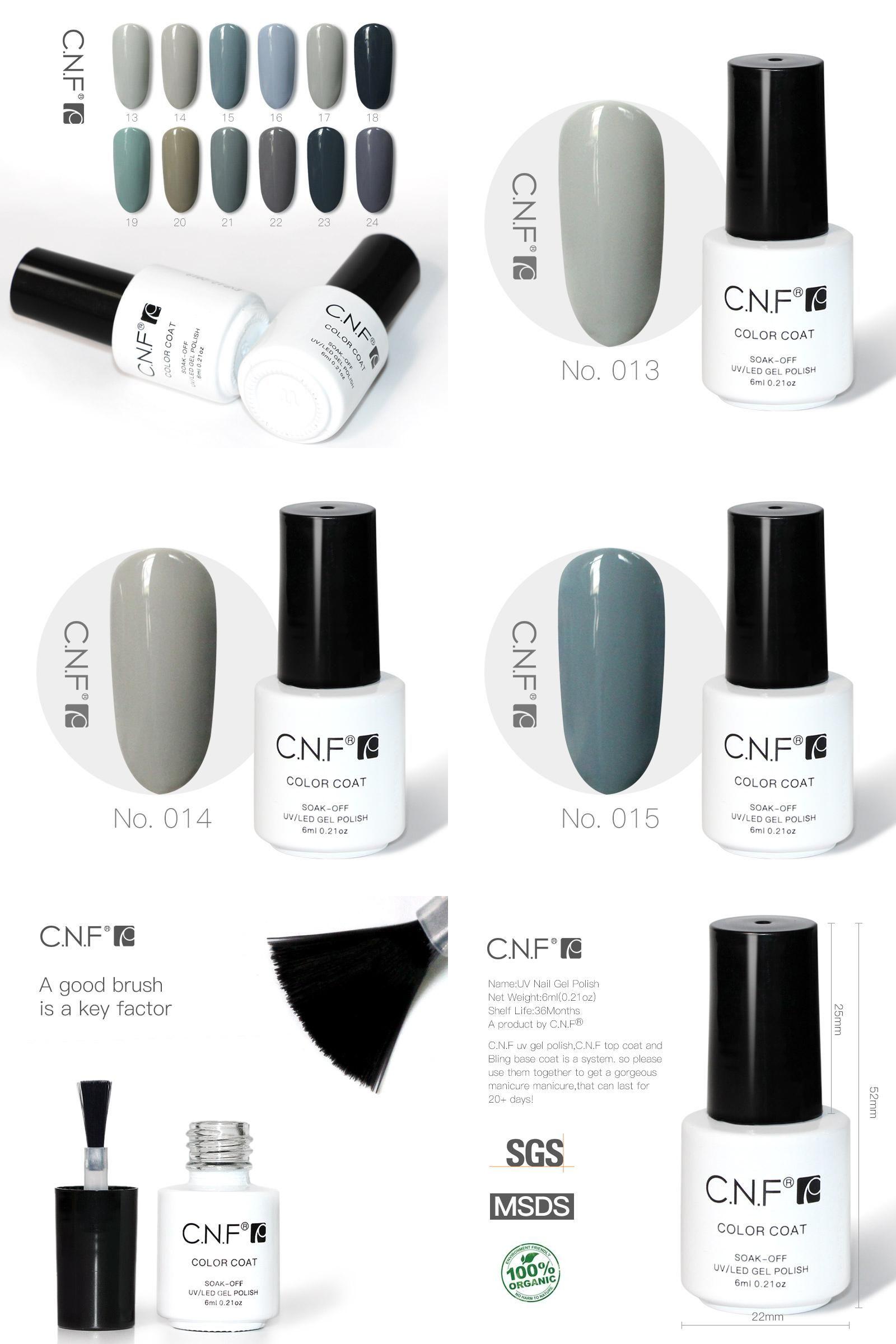 Visit to Buy] C.N.F Gel Nail Polish 6ml Professional Nails Uv Gel ...