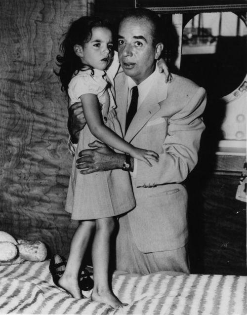 Liza y su padre el director de cine