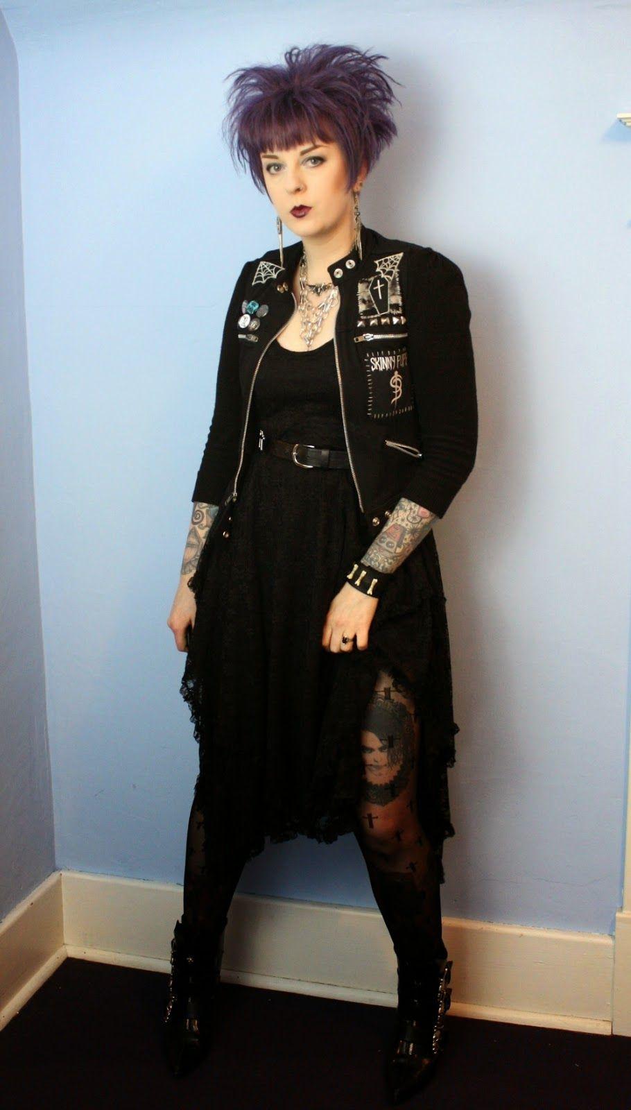 Goth Fashion Blog Punk Design