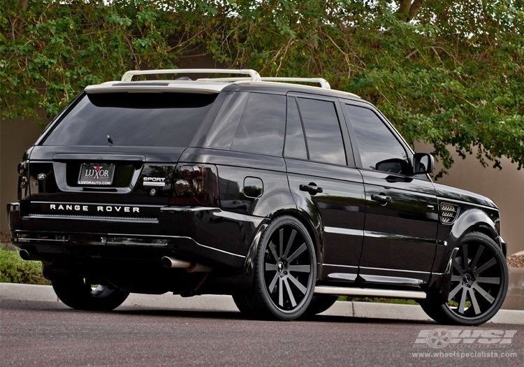 2010 Land Rover Range Rover Sport with 24 Gianelle Santo2SS in