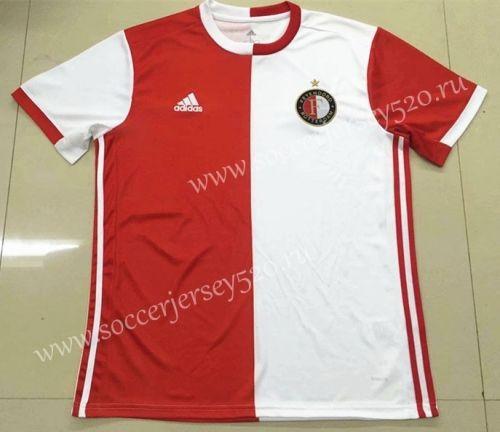 86a3e0de0 2019-20 Feyenoord Rotterdam Home Red White Thailand Soccer Jersey AAA-826