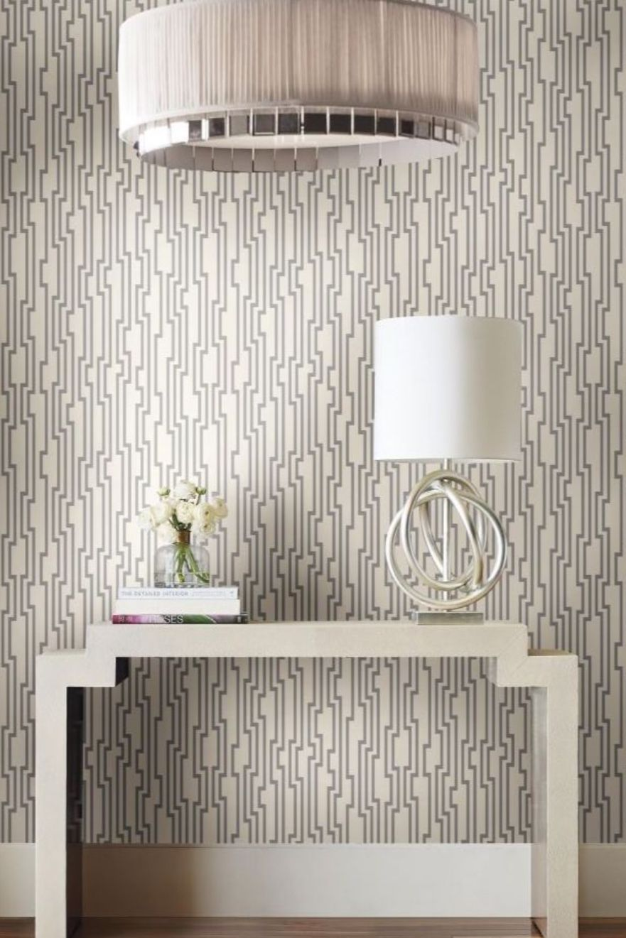 Velocity Unpasted Wallpaper Glam Wallpaper York Designer Series Wallpaper Chic Wallpaper