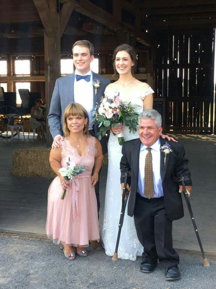 Joel Silvius with wife Molly Roloff and in-laws