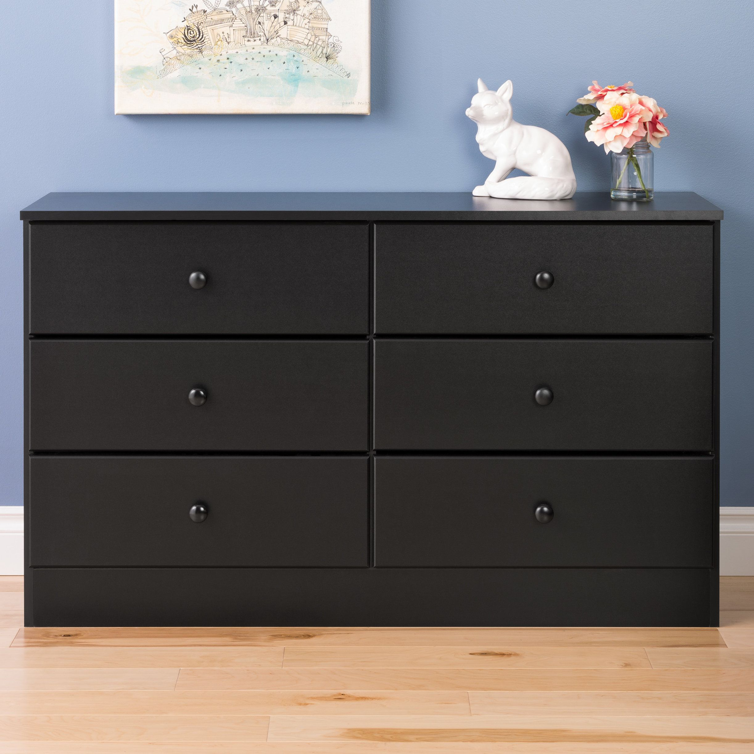 Doyle 6 Drawer Double Dresser Six Drawer Dresser Dresser 6 Drawer Dresser [ 2445 x 2445 Pixel ]