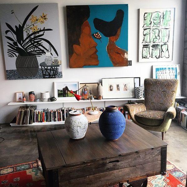Step Inside Emily Ratajkowski's Art-Filled L.A. Ap