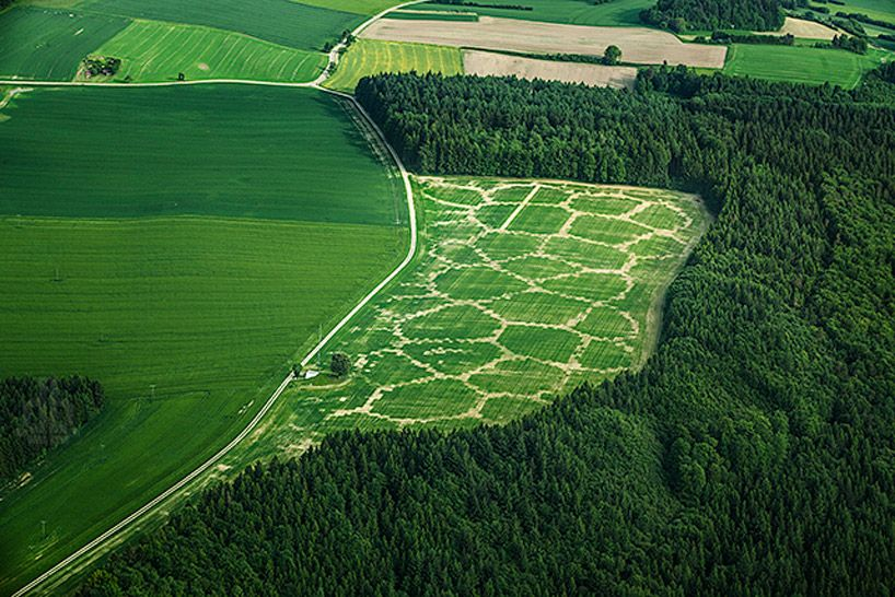 digitally farming with agricultural printing   altered landscapes - designboom | architecture