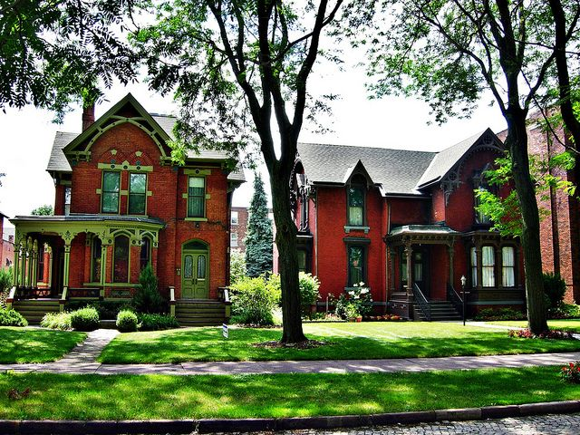 Detroit Homes Street Canfield Historic And Bush