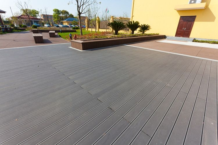 Anti bacterial external composite flooring board outdoor for Deck flooring materials