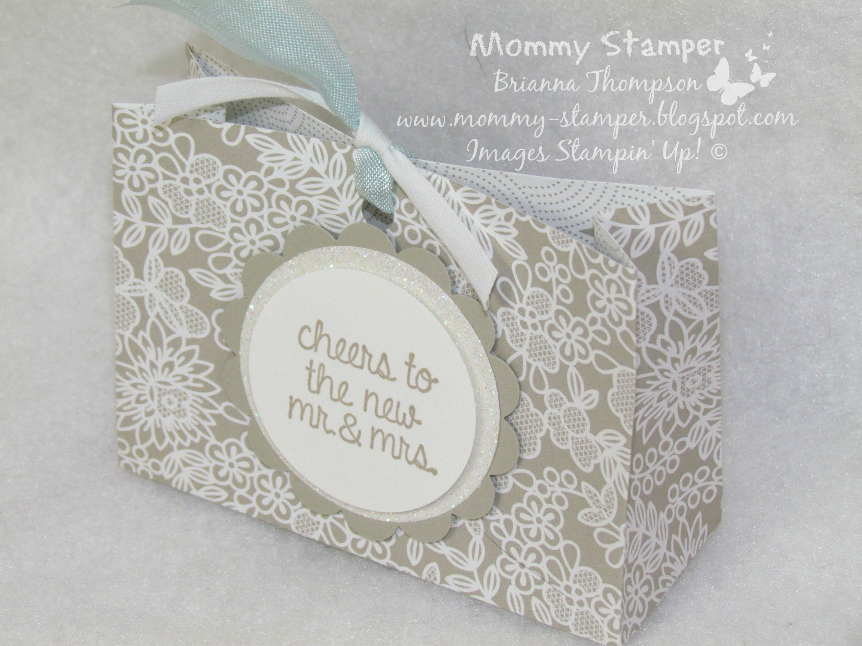 Wedding Favor Bag with Mommy Stamper | Bags, Boxes & More ...