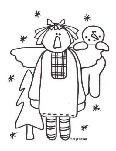 snowflake coloring pages - Bing Images   Raggedy Ann Coloring Pages ...