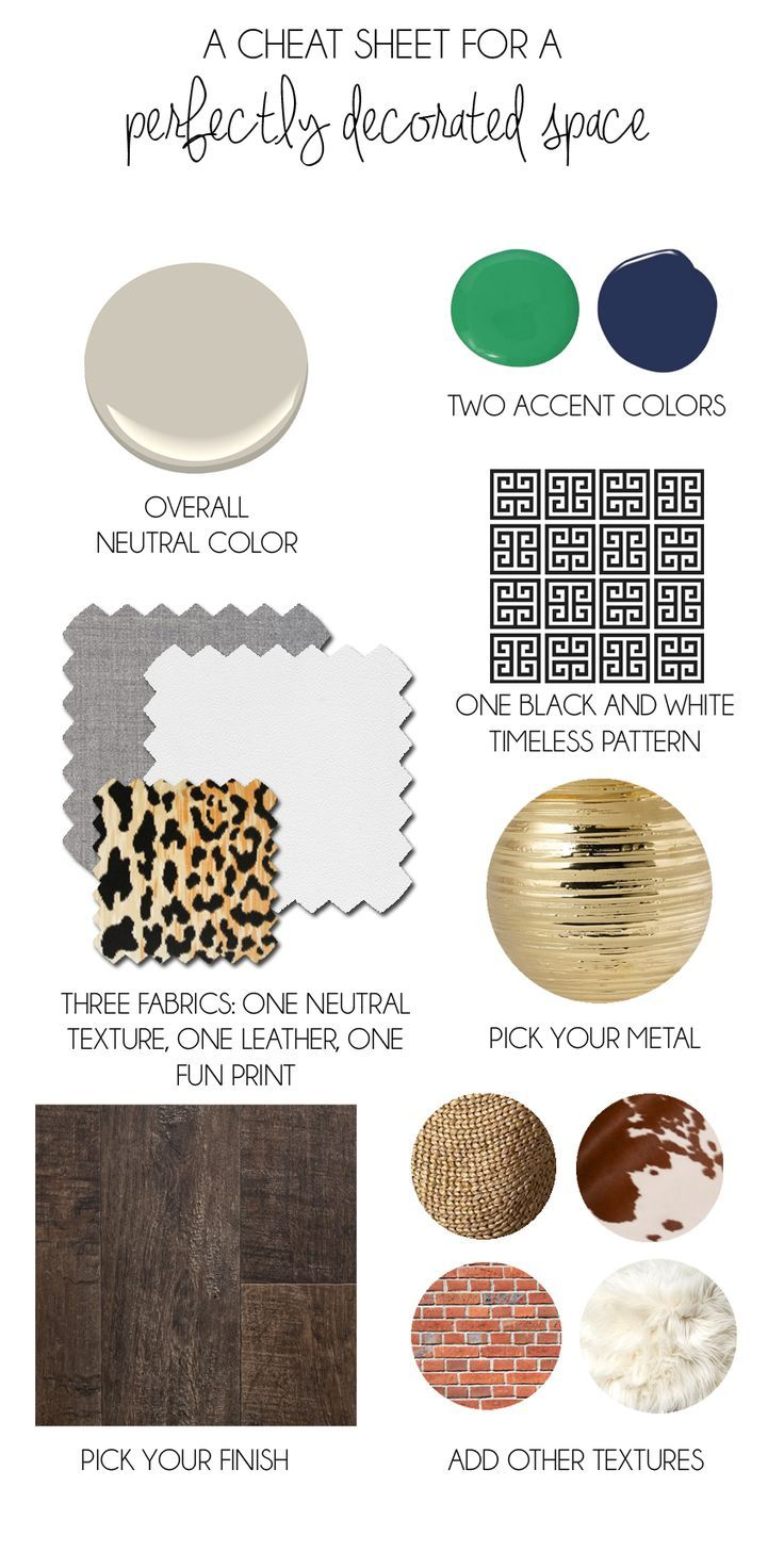 Interior Design 101 The Perfect Formula For The Perfect Space